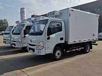 國六躍進小福星3.2米冷藏車廠家報價