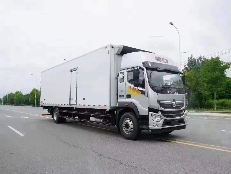 奧鈴大黃蜂國六9米6冷藏車價格