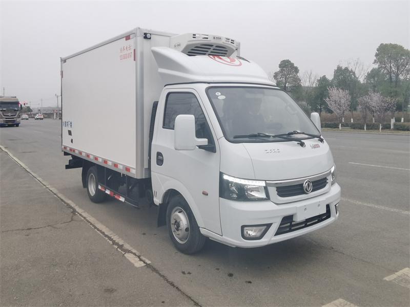油汽兩用冷藏車價格-東風途逸3米5油氣兩用冷藏車