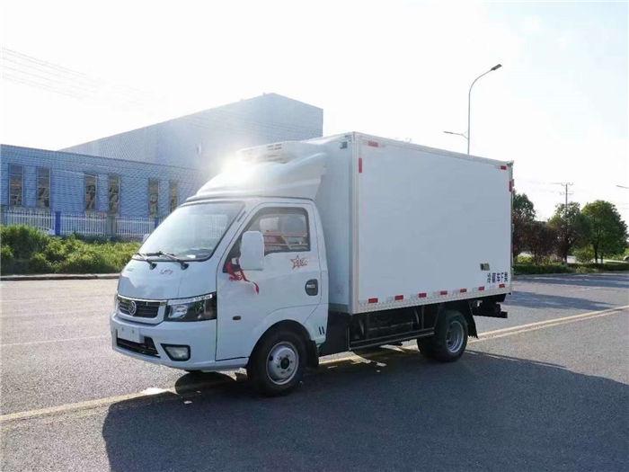 東風途逸柴油(國六)藍牌小型冷藏車疫苗冷鏈車