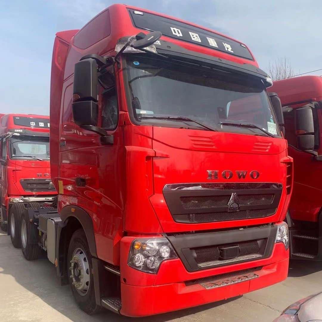 重汽豪沃卡車T7H國五預掛車460馬力曼機牽引車