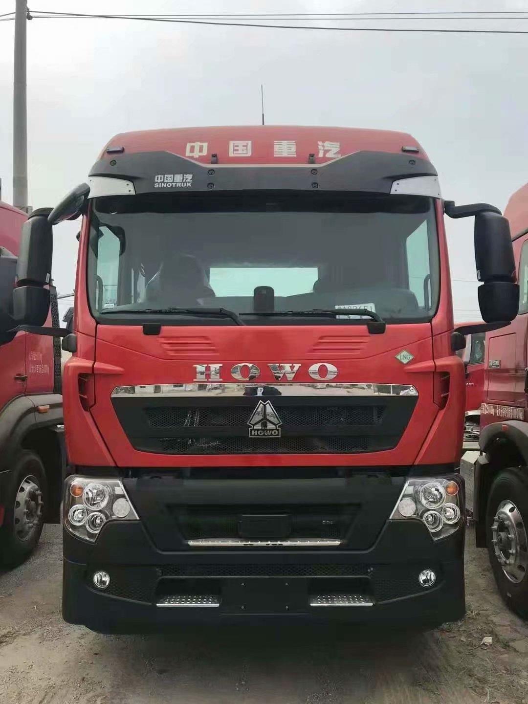 4台豪沃 TX7天然气国六440马力牵引车大处理