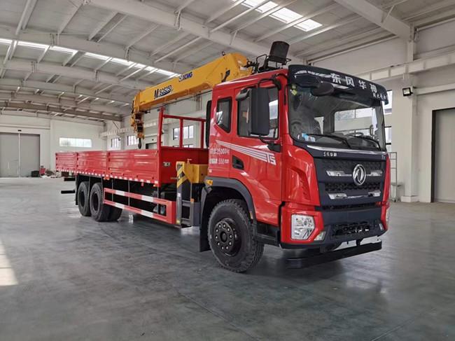 東風華神F5隨車吊底盤可選裝8-12噸吊機