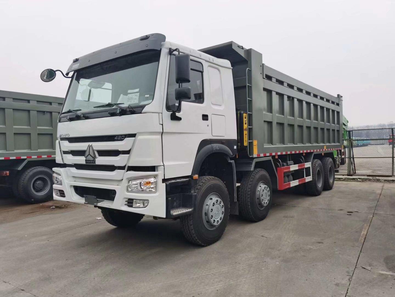 中國重汽HOWO 8*4自卸車出口版7.5米自卸車
