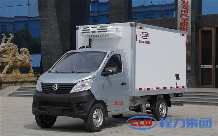 国六长安后单轮2.9米冷藏车