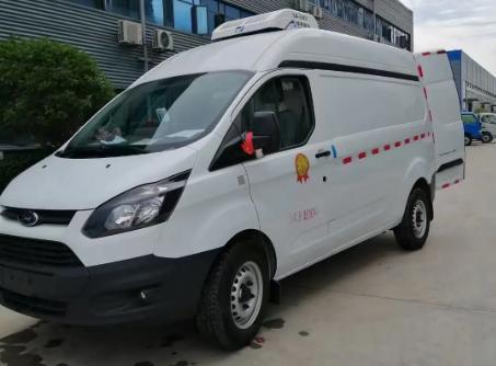 國六福特新全順疫苗冷鏈運輸車5.1方面包冷藏車