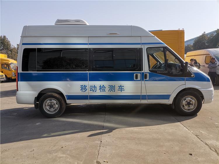 水質檢測車廠家_環境空氣質量移動監測車_環保監測車布局新穎