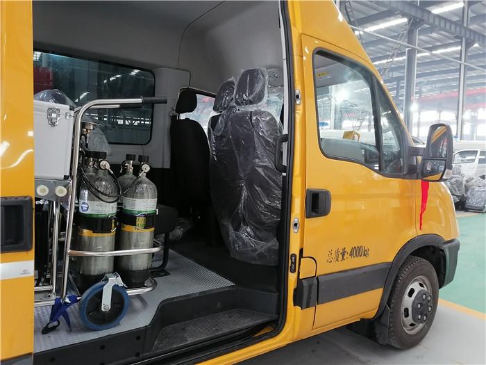气防车品牌_市政电力燃气管线_福特_依维柯厂家价格_燃气应急救援抢修车