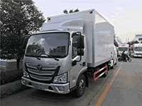 国六福田欧马力4.2米冷藏车厂家推荐报价