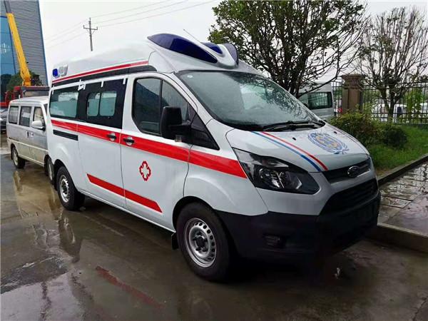 国六新款福特V362高顶救护车厂家年底促销活动价多少钱