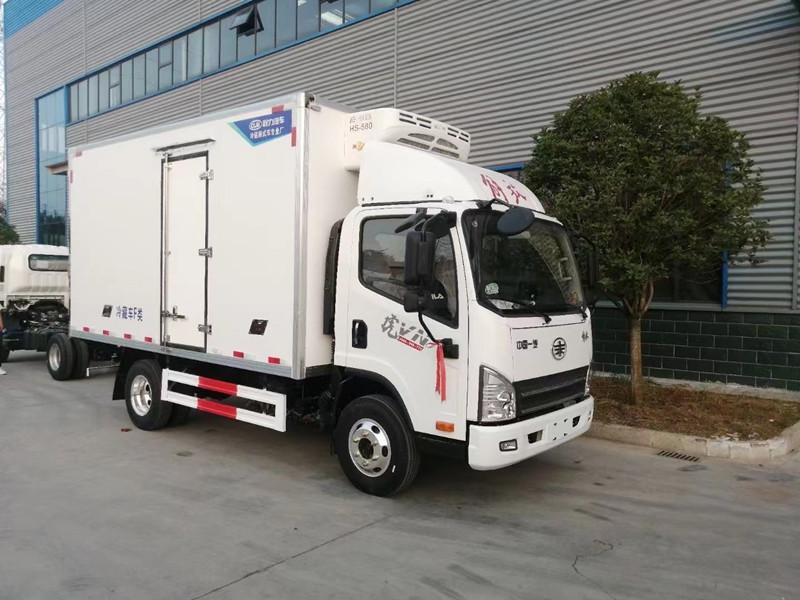 4.2米解放虎VN箱式冷藏车(不超重)全国各地可以上牌