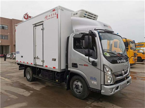 福田欧马可S1冷藏车价格 厢长4.2米冷藏运输车报价大全