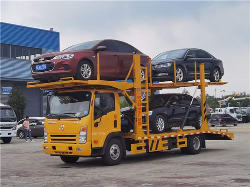 国六成都大运三位板轿运车