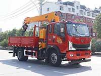 重汽豪曼6.3吨随车吊厂家配置介绍