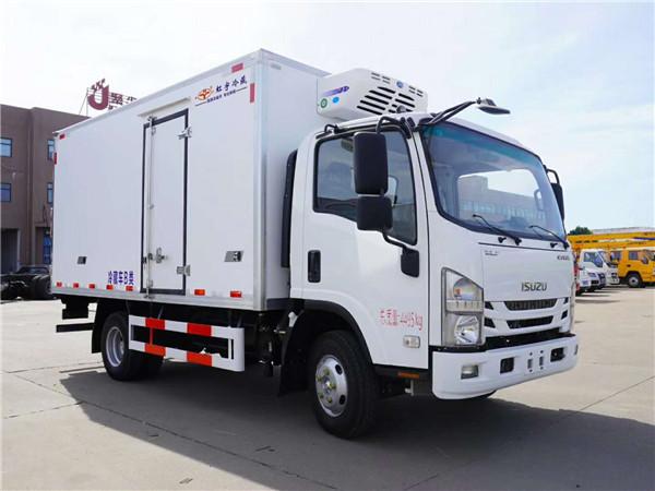 大型五十铃700P冷藏车最低批发价多少钱