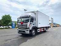 福田欧马可6.6米冷藏车厂家报价