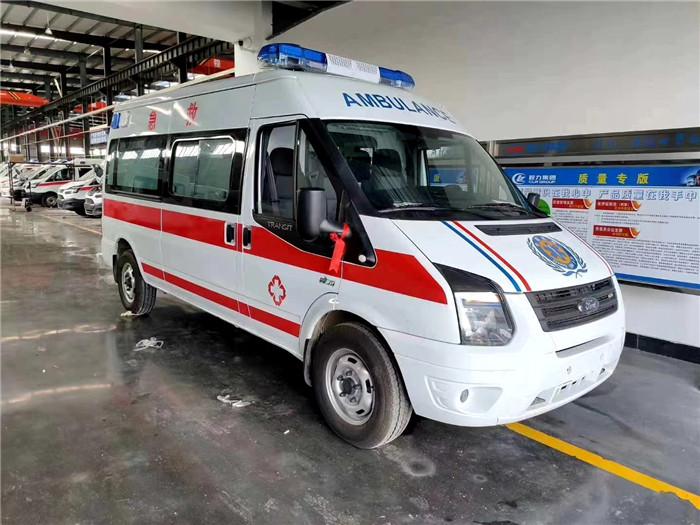 福特V348长轴中顶监护型救护车现车促销