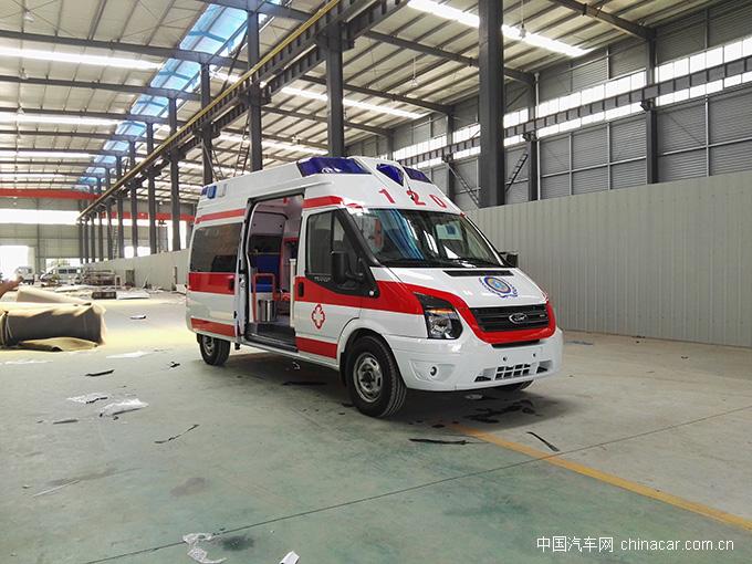 极限救援就选江铃新世代V348救护车