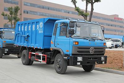 经济实惠    东风153压缩式对接垃圾车