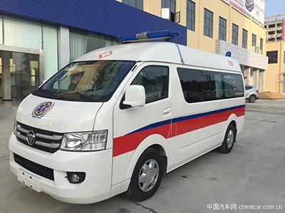 配置齐全 福田G7救护车