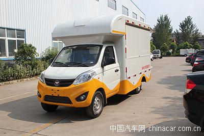 创业神器  福田伽图售货车评测(上装篇)