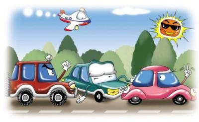 前方堵车应该怎么安全驾驶