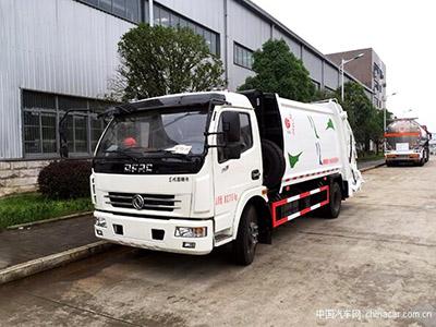 转运垃圾实力派,东风多利卡压缩垃圾车评测(底盘篇)