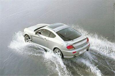 车辆涉水该怎么做