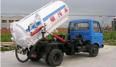 吸粪车真空泵常见故障及维修方法