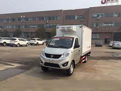 城市运输小精灵 福田伽途国五冷藏车
