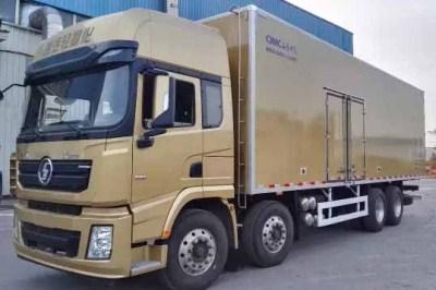山东中集携手陕汽X3000打造新款冷藏车