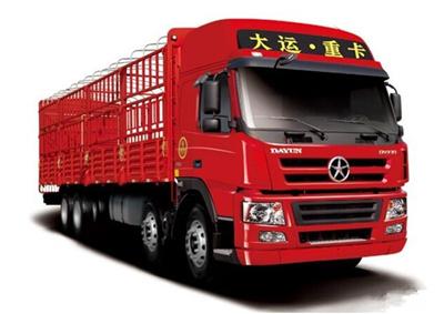 高速物流新选择——大运新N8E大马力载货车