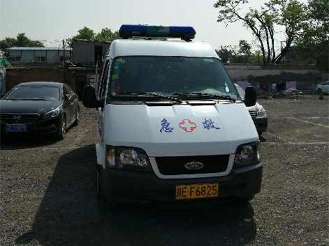 外地救护车在北京趴私活 长期违规跨区域从事长途转运