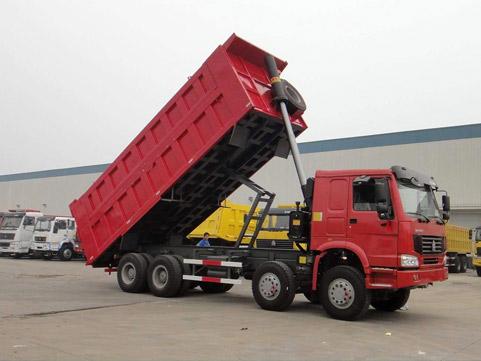 货车装载车厢,其中取力装置,液压系统等部分组成,经常使用在大型的图片