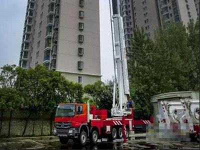 徐工DG88消防车国内市场收获订单