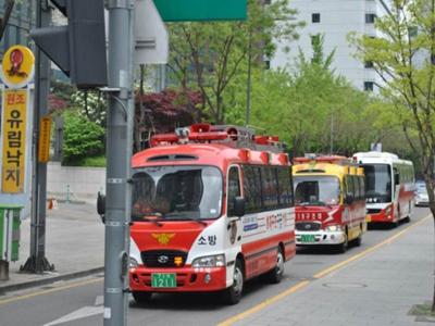 """韩国重罚""""不给消防车让路"""" 最高将罚200万韩元"""