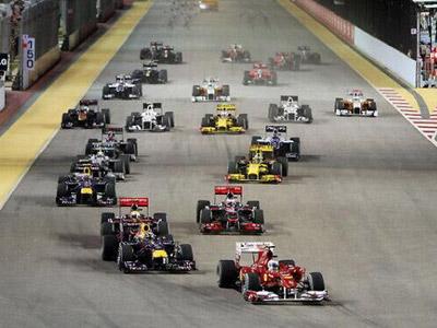新加坡的星空下观F1赛事 环亚娱乐给您别样体验