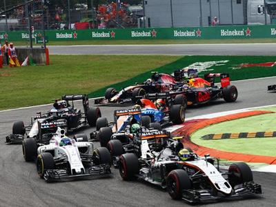 印度力量意大利站完赛 尊龙娱乐F1赛场激情助力