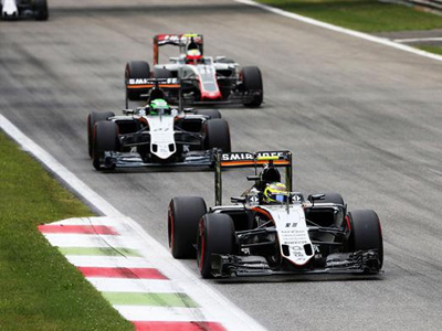 印度力量不敌威廉姆斯 尊龙娱乐看F1意大利站