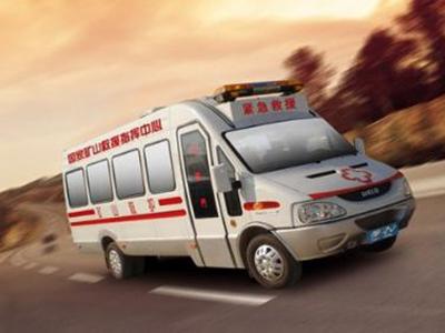 行业巨头——依维柯矿山救护车