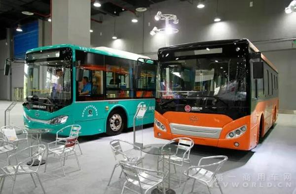 携2016三款重磅新车 五洲龙亮相广东国际城市公交展
