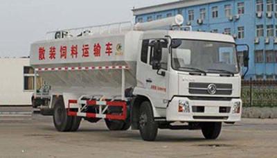 东风散装饲料运输车的优势和特点
