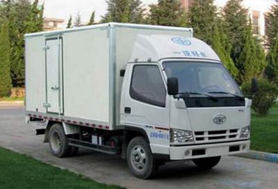 轻卡厢式货车的特点及用途