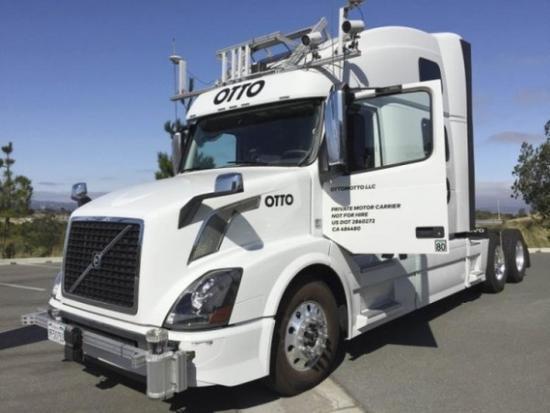 Uber进军货运市场 拟明年推出无人驾驶卡车