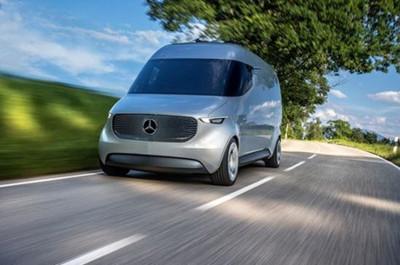 奔驰发布自动驾驶概念货车 配两架无人机