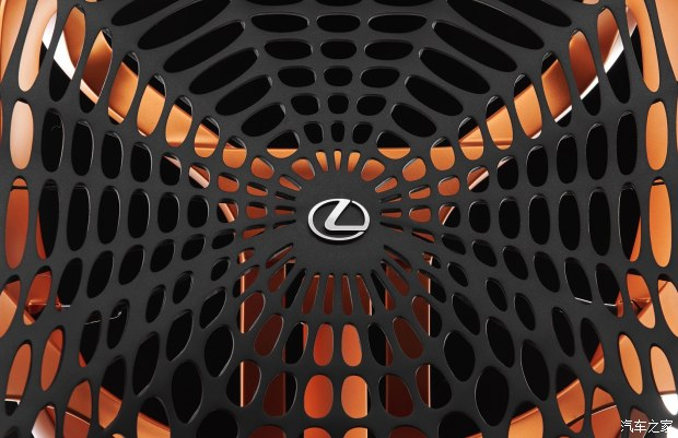 蛛网造型设计 雷克萨斯将发布概念座椅