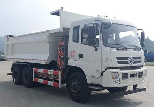 东风牌首款纯电动自卸车已上公告