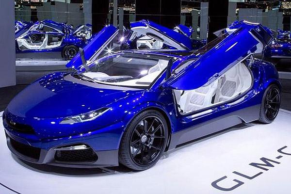 """""""日本特斯拉""""发布G4概念车"""