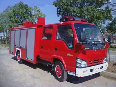 消防车的各零配部件的保养需知