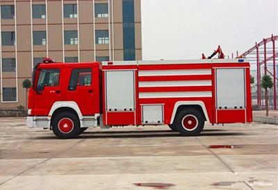 消防车冬季保养注意事项